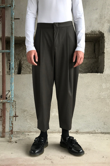 Double Pleated Pants