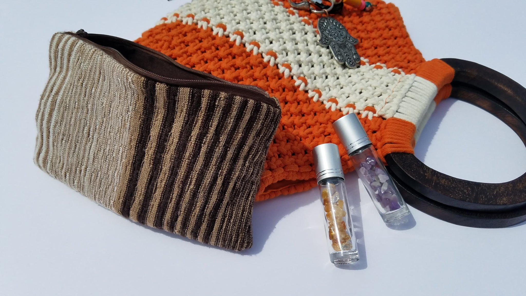 Essential Oil Bag- Bark-P3