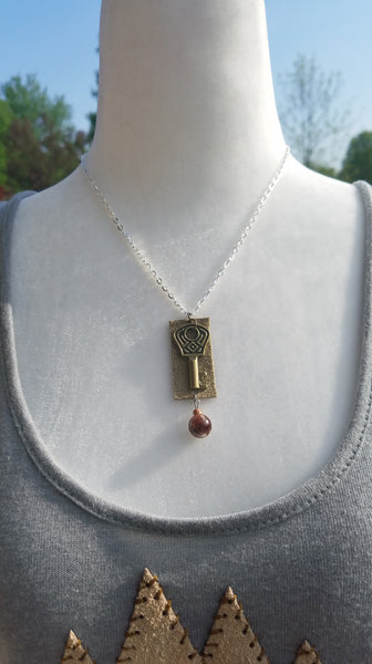 Womens Diffuser necklace-N3