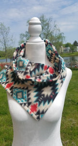 Womens Diffuser scarf-tribal