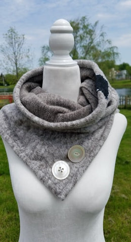 Womens Diffuser Scarf-shell