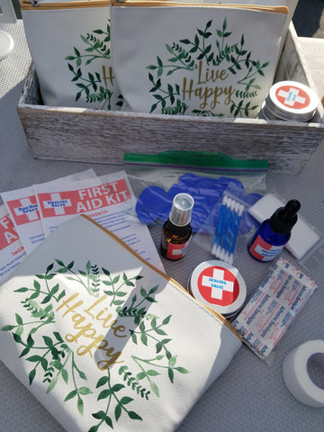 First aid kit with All natural ingredients