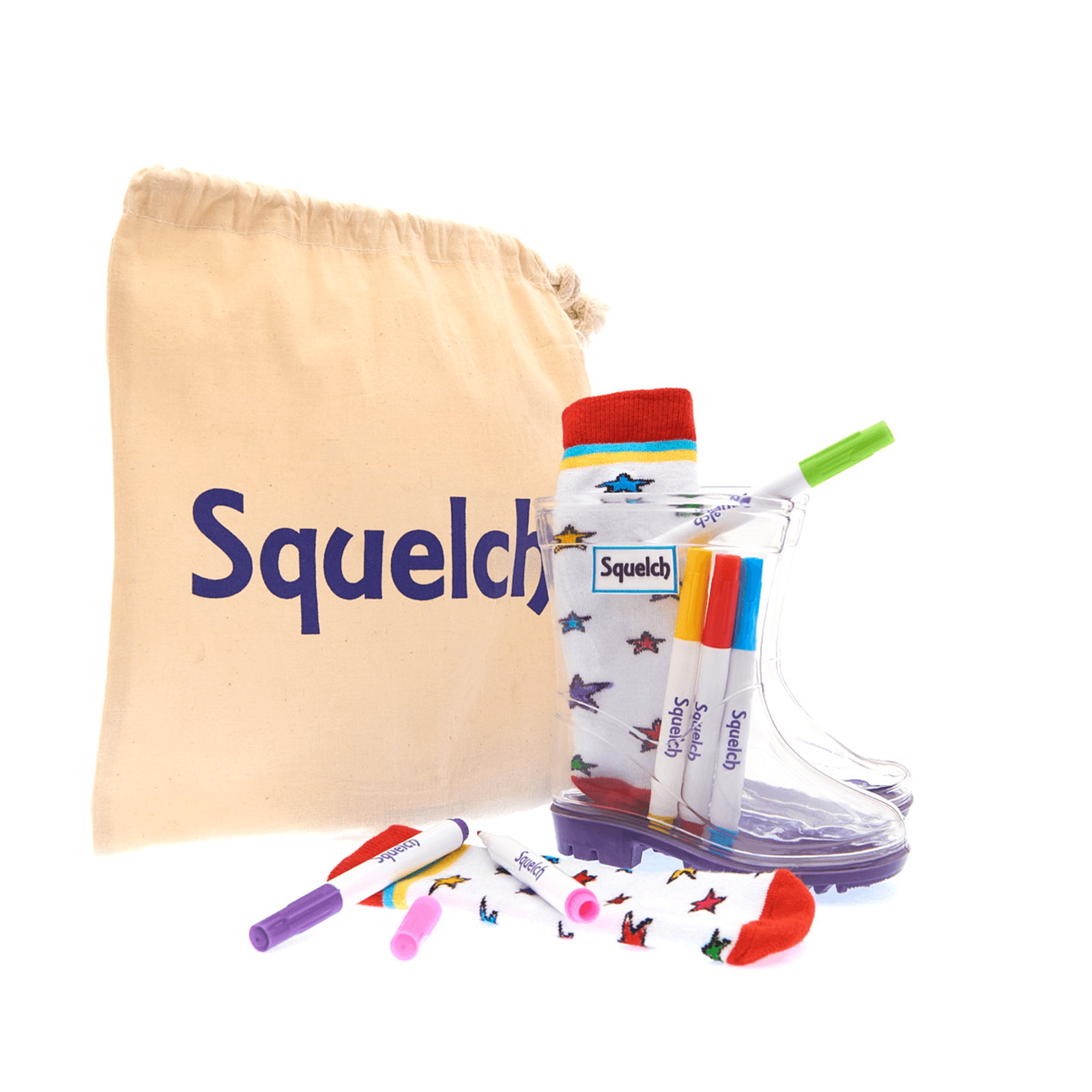 Squelch-Character-Colouring-Package