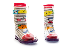 Fruits Welly Sock