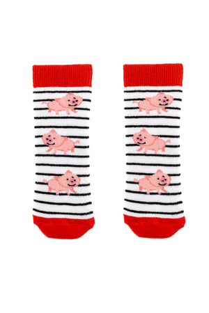 Pig Tot Welly Sock