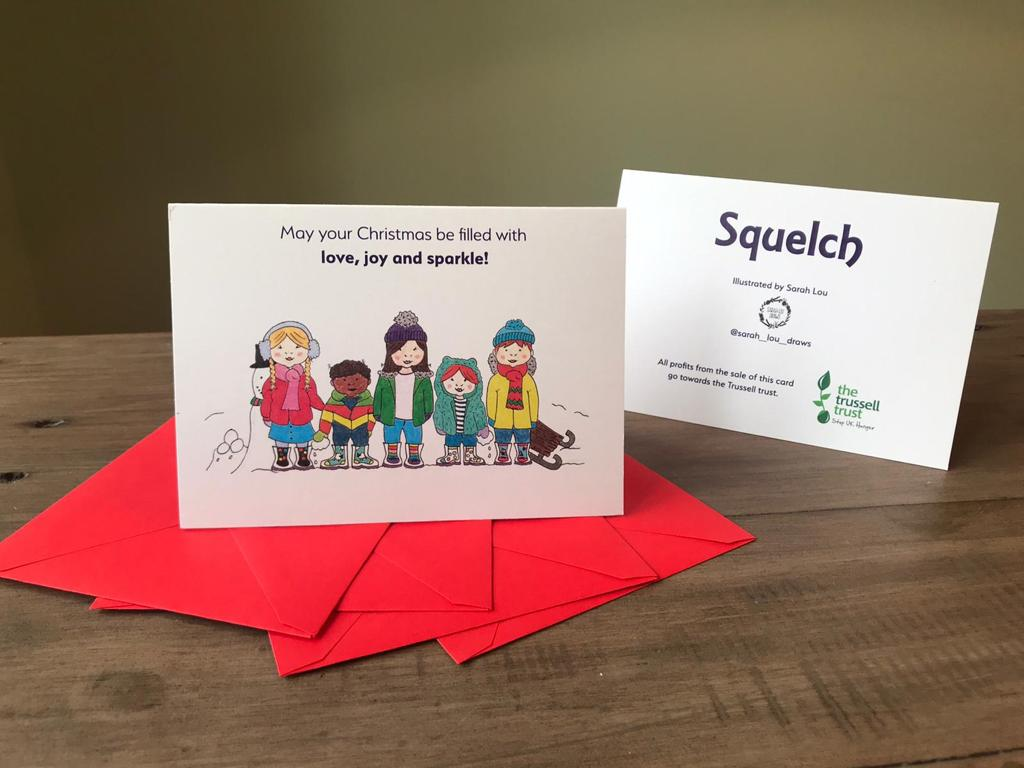 Squelch Christmas Cards