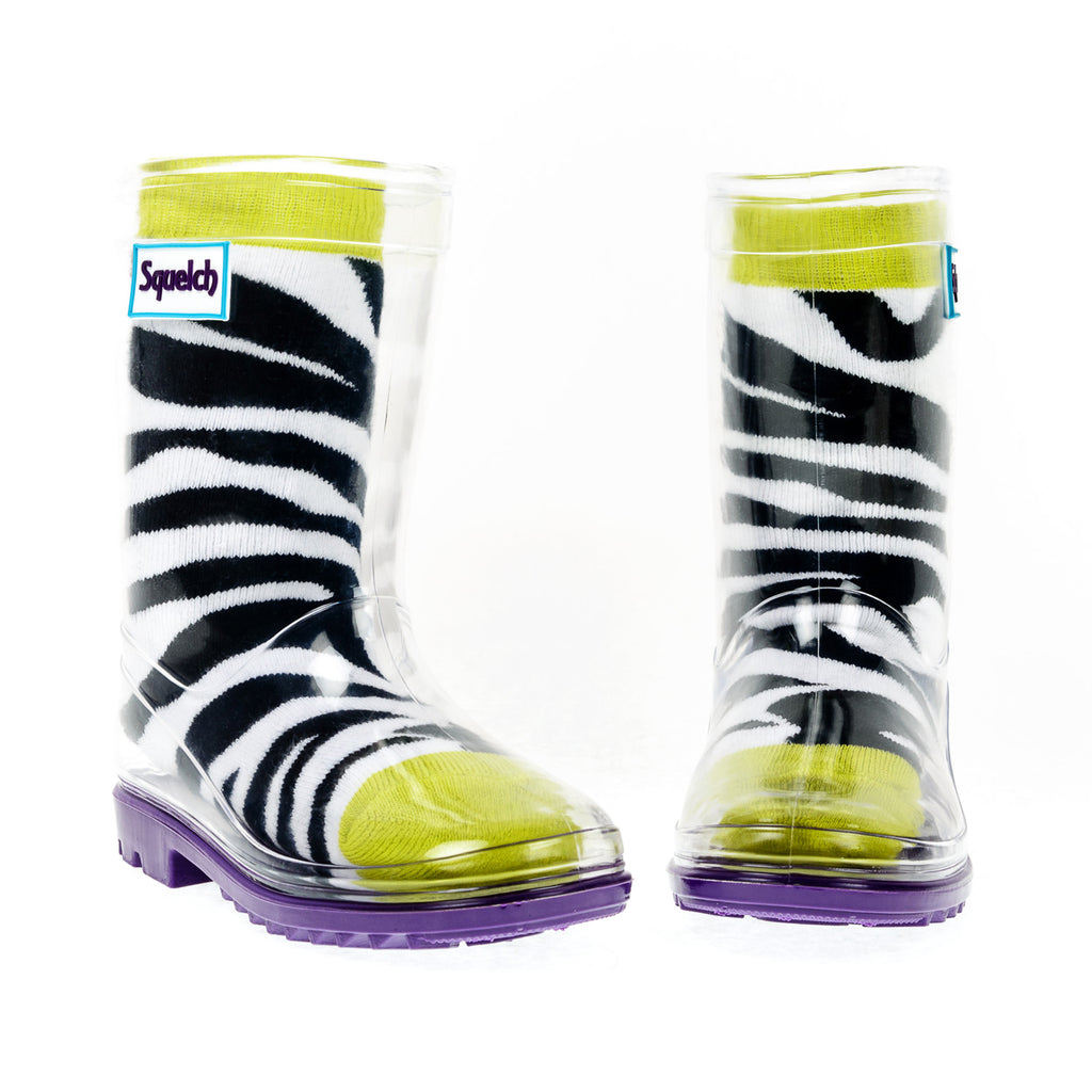 Squelch-Zebra-Welly-Boots