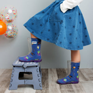 Halloween Witches Welly Sock