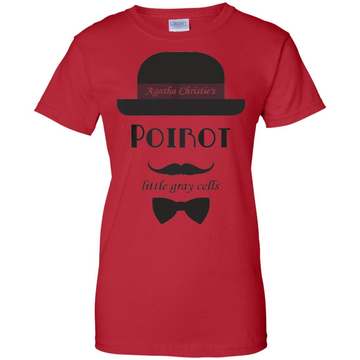 Little Grey Cells Agatha Christie's PoiRot TShirt