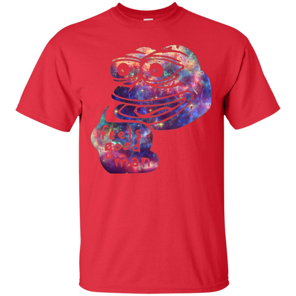 Rare Dank Meme Shirt Cosmic Galaxy Feels good Pepe T-Shirt