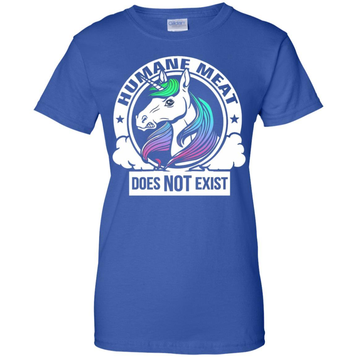 Humane Meat Does Not Exist T Shirt - Vegan T Shirt