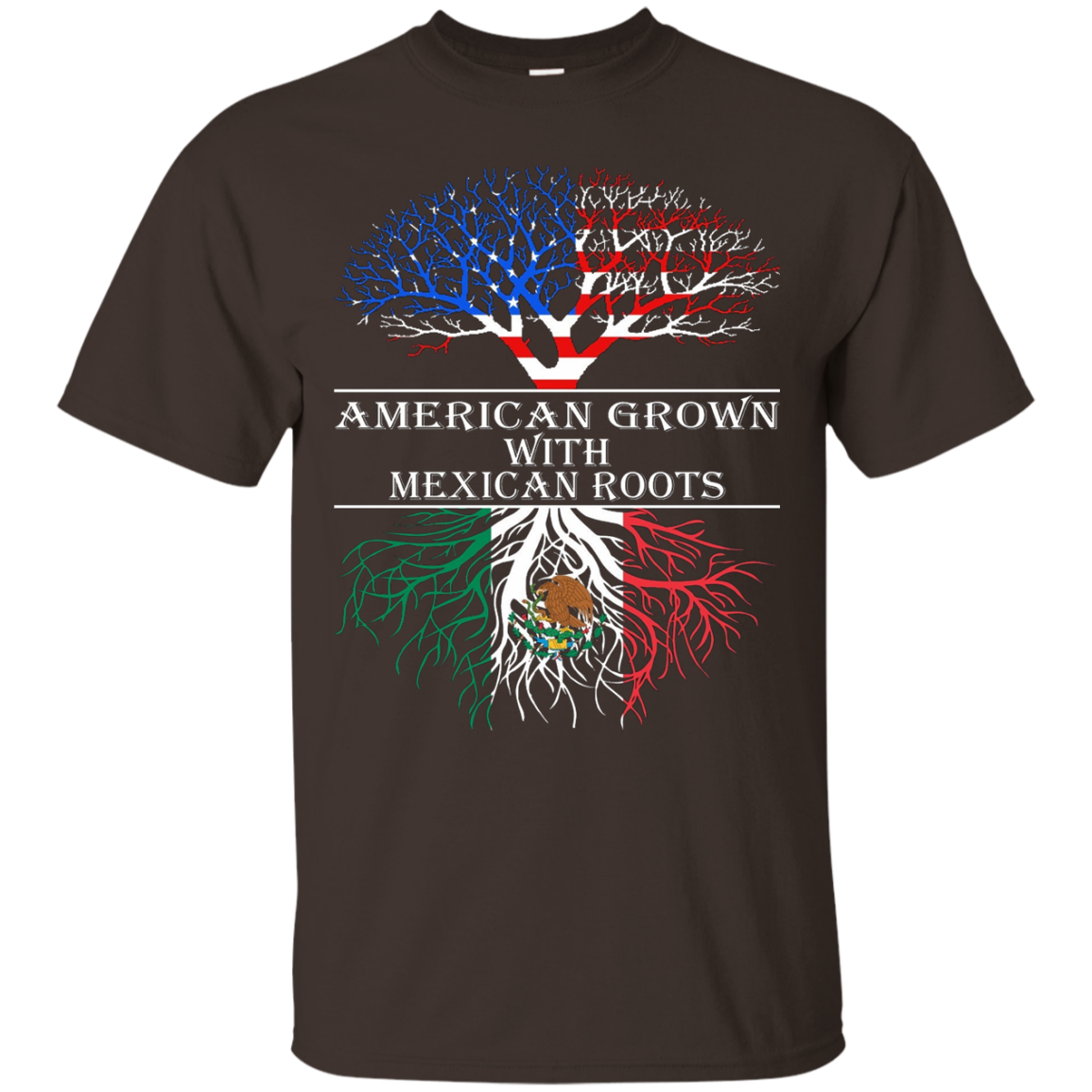 American Grown With Mexican Roots T-Shirt Tshirt