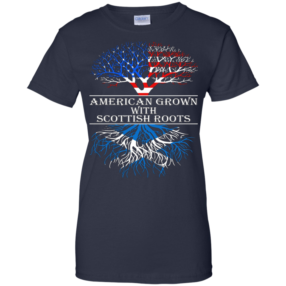 American Grown With Scottish Roots T-Shirt Tshirt