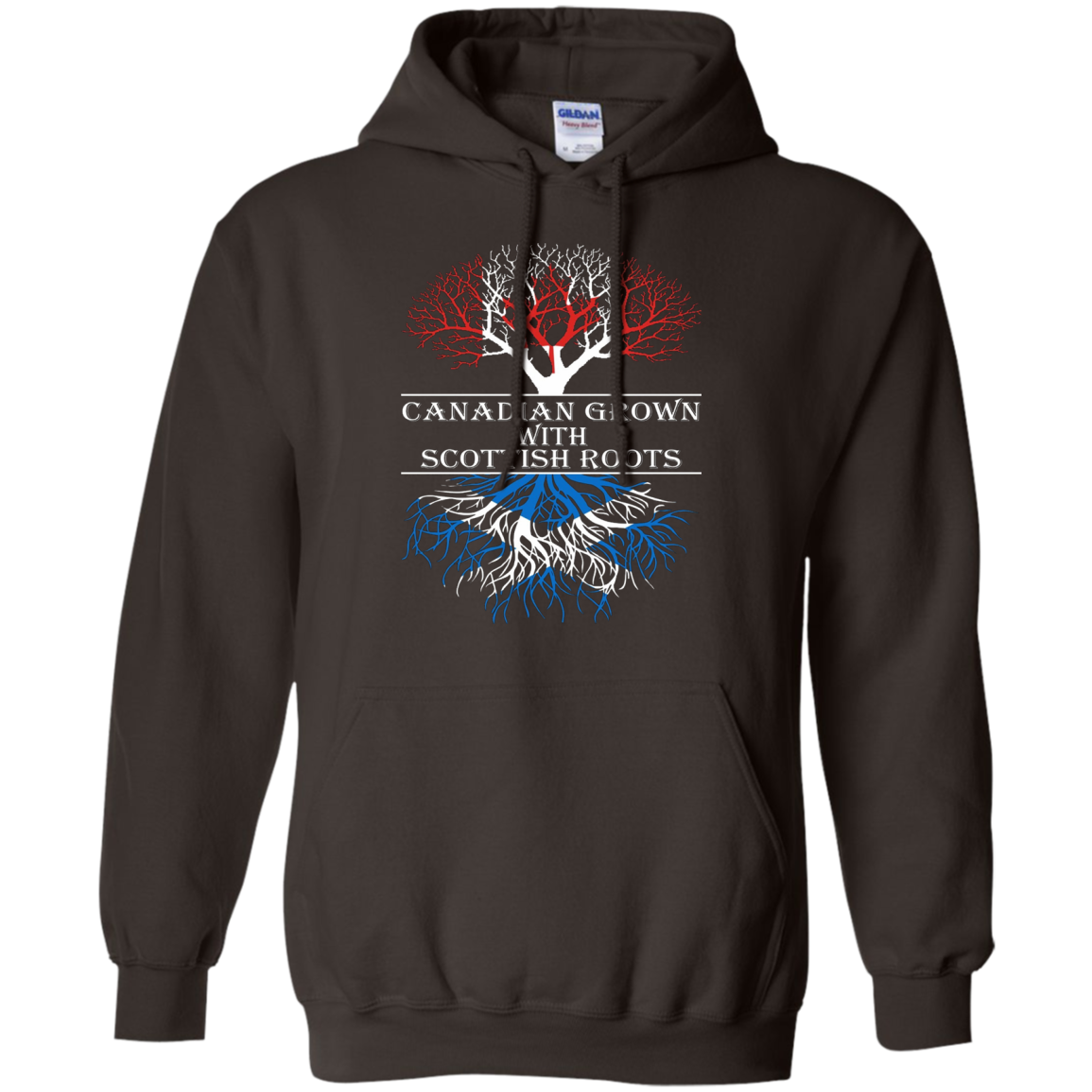 Canadian Grown With Scottish Roots T-Shirt Tshirt