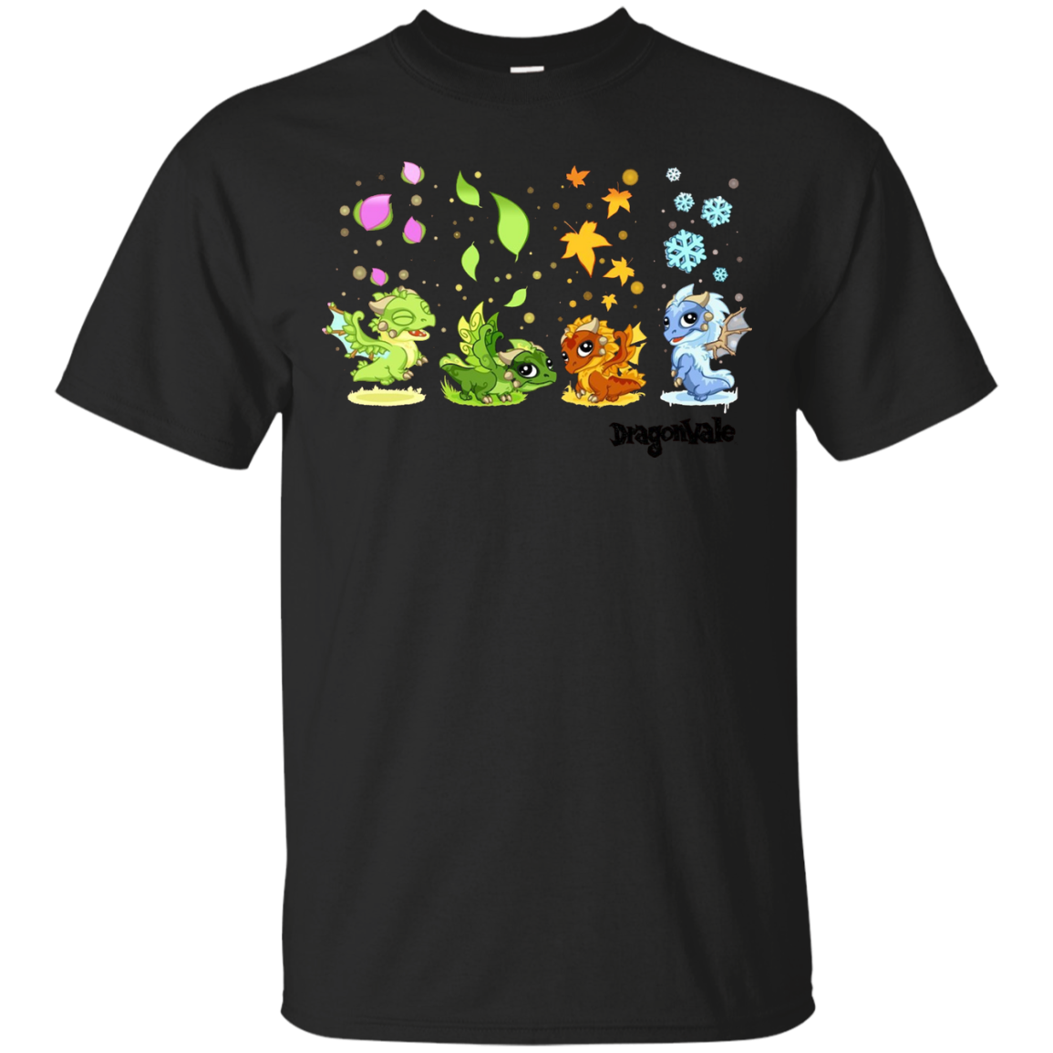 DragonVale The Four Seasonal Dragon T-Shirt