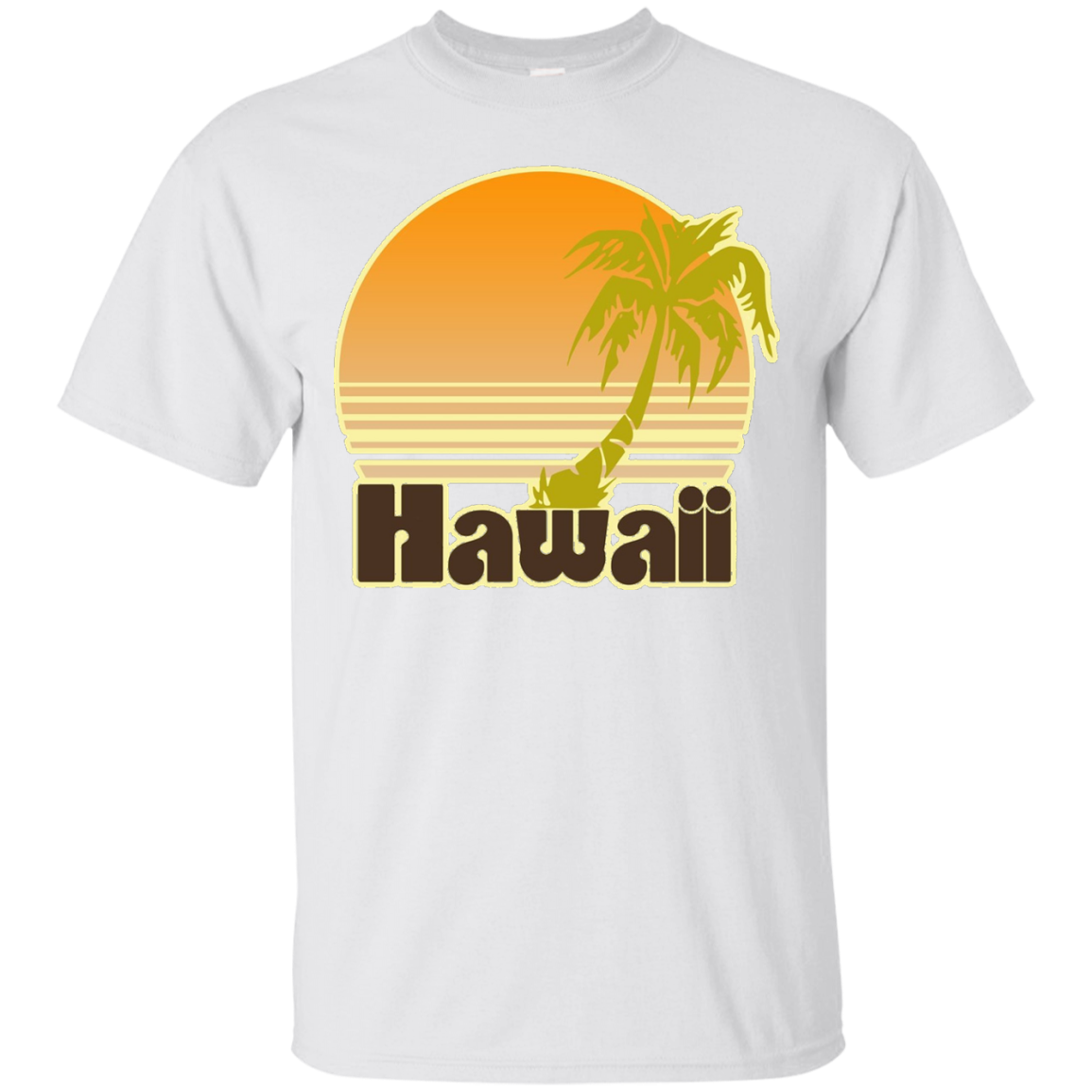 Retro Hawaii shirt for Hawaiian vacation vintage t-shirt