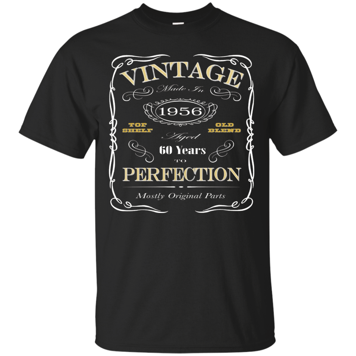 60th Birthday Gift T-Shirt - Born In 1956 - Vintage
