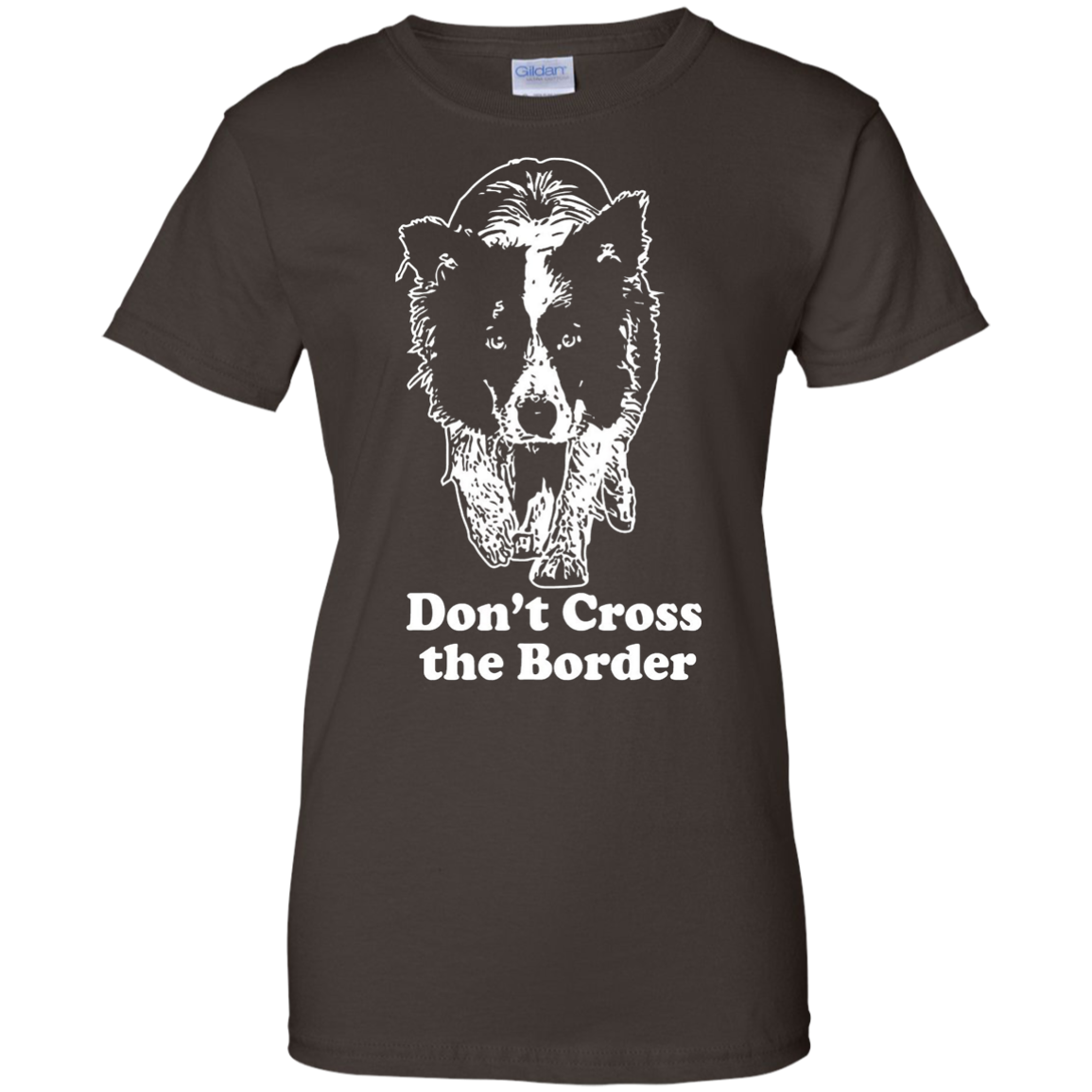 Border Collie - Don't cross the border