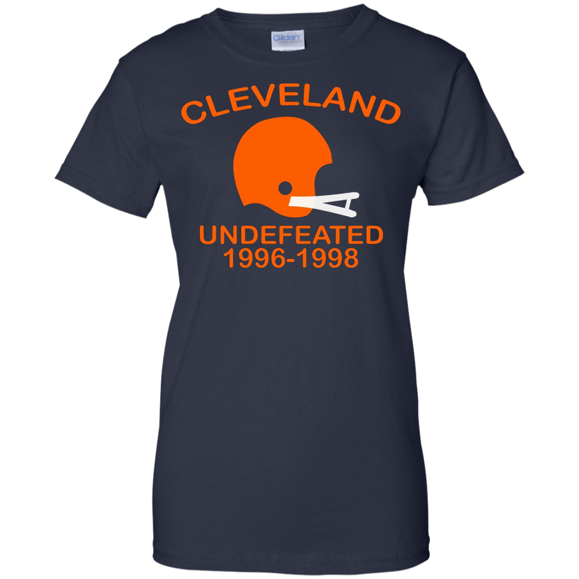 Cleveland Undefeated 1996 - 1998 T-shirt