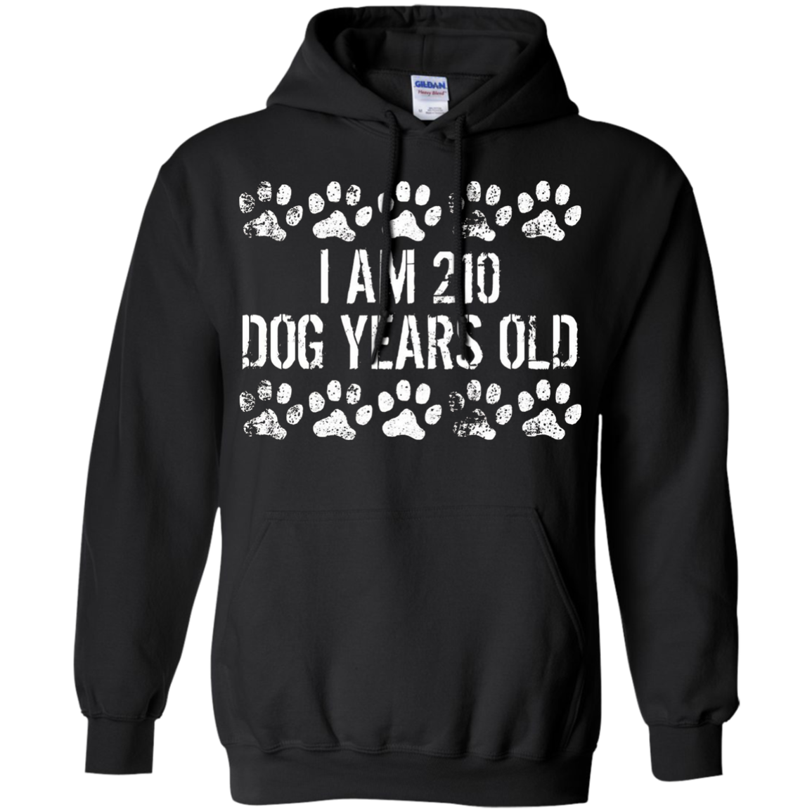 I Am 210 Dog Years Old Funny 30th Birthday T-Shirt