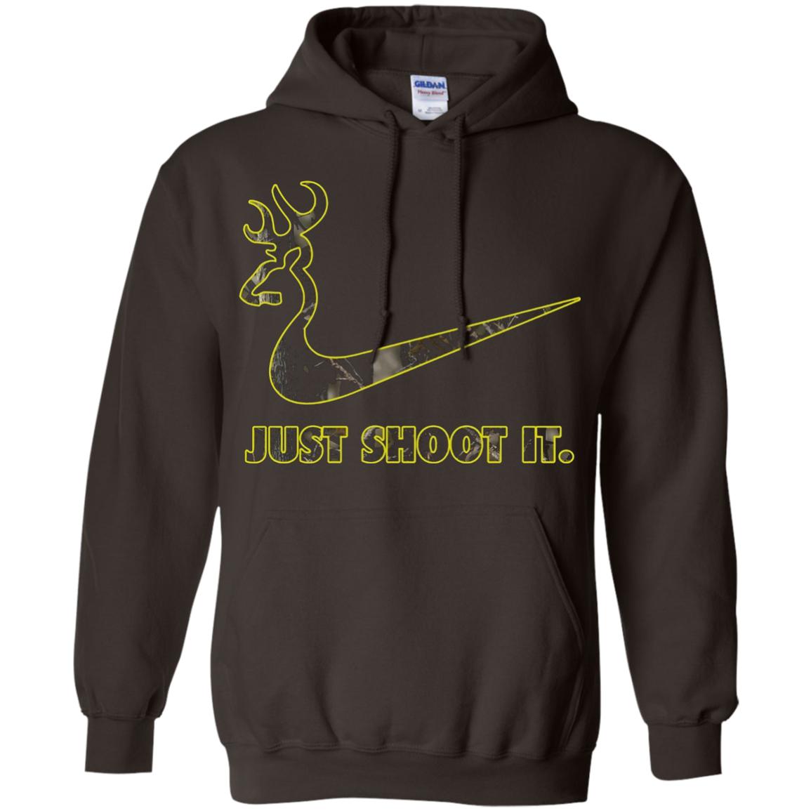 Just Shoot It - Camo Deer Hunting T-Shirt