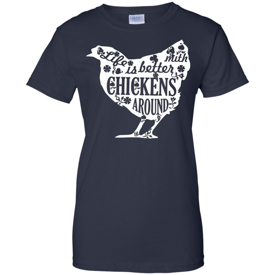 Life With Chickens T-Shirt