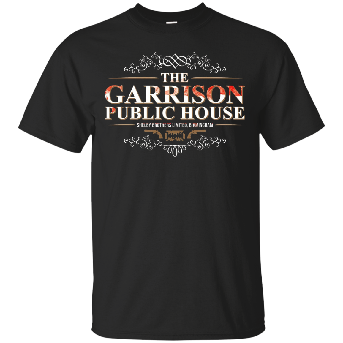 Men Womens Peaky Blinders T-shirts GARRISON PUBLIC HOUSE