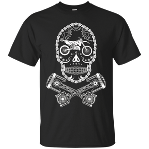 MX Motocross Dirt Bike Sugar Skull