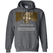 Nelson Mandela Shirt – Education is the most powerful weapon T-Shirt