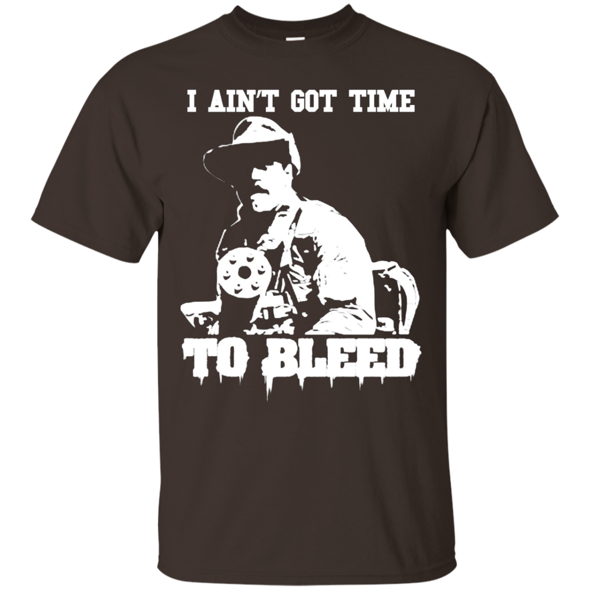 Predator I Ain't Got Time To Bleed Jesse Ventura Quote T-Shirt