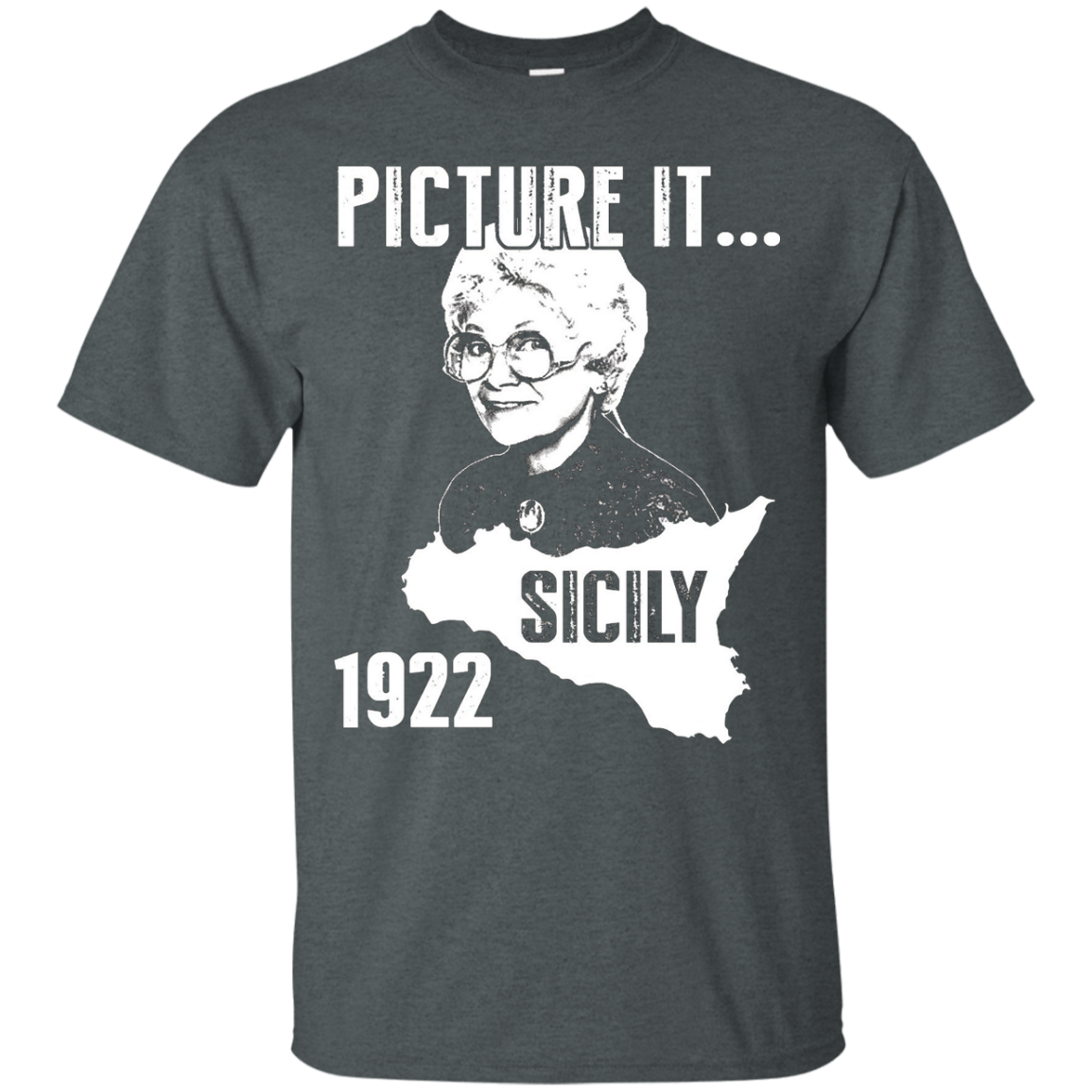 Sicily Shirt Picture it... Sicily 1922 - Golden Girls Shirt