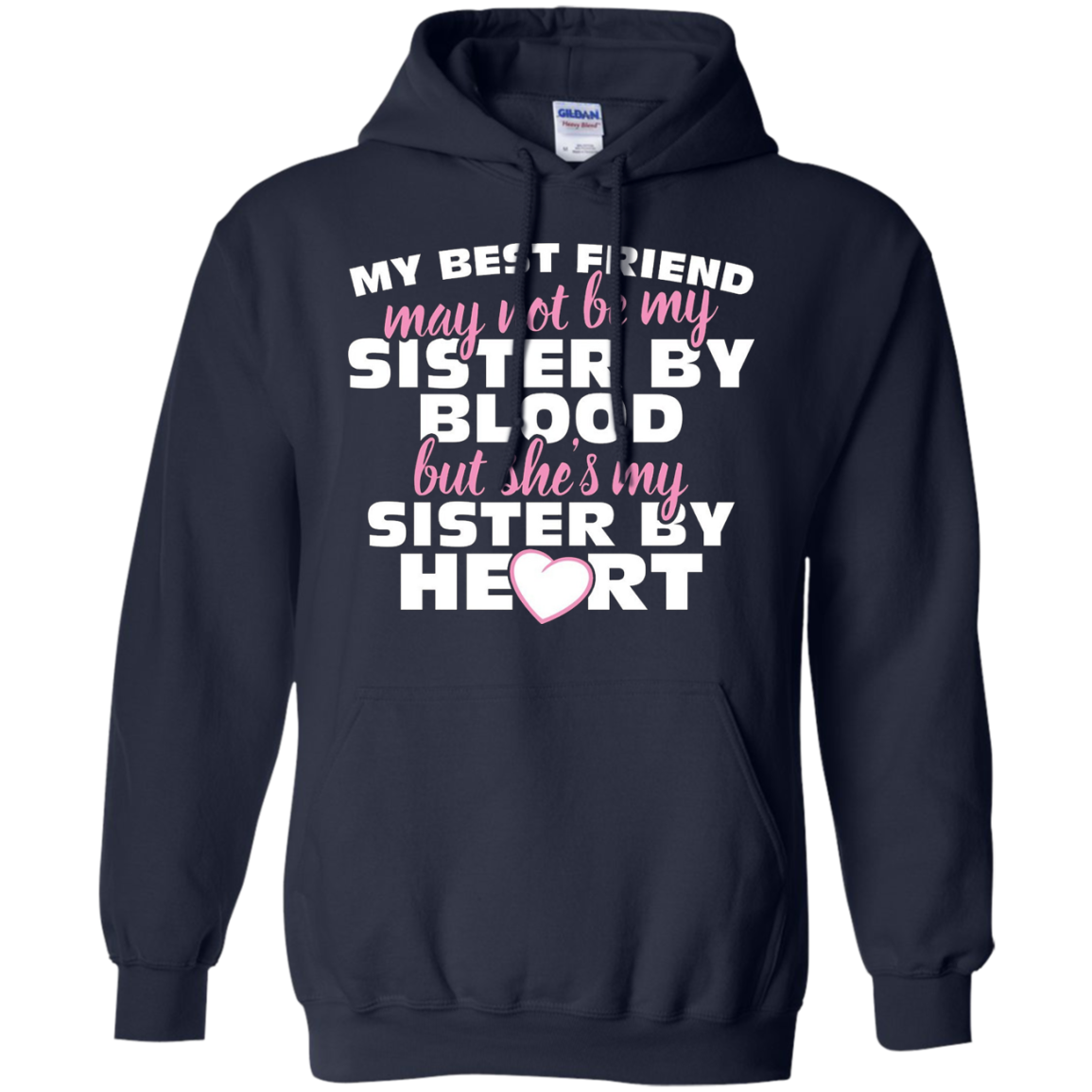 Special Best Friend T-Shirts Gifts My Sister by Heart