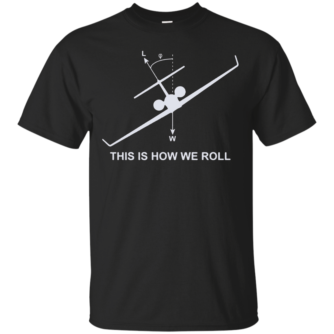 This is how we roll Aviation Pilot Cool T-shirt 2016