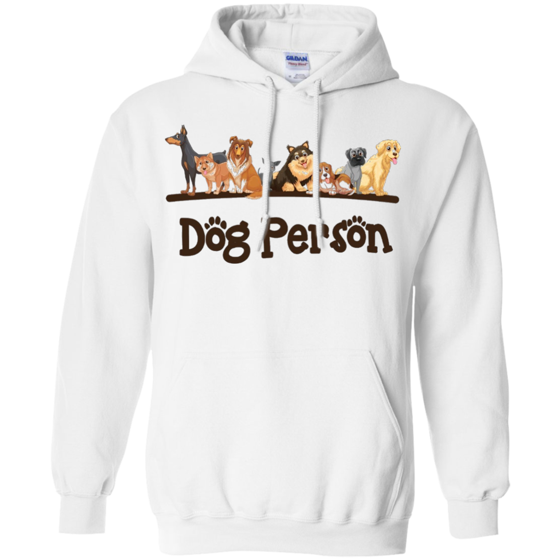 Dog Lovers T-shirt, Dog Person, Puppy Lover by Zany Brainy