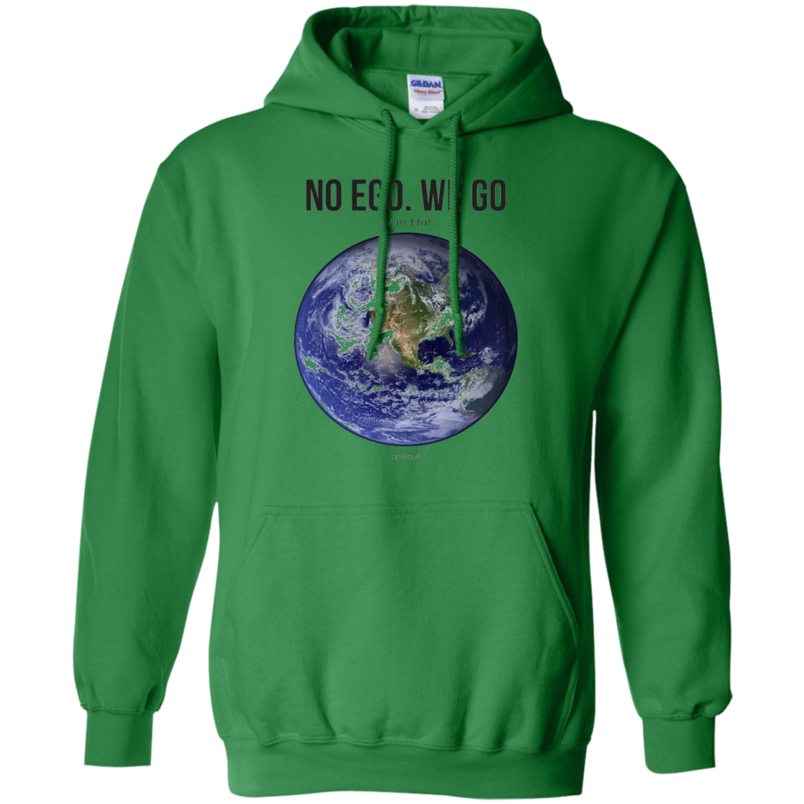No Ego. We Go. (Earth) Inspired by Wim 'The Iceman' Hof