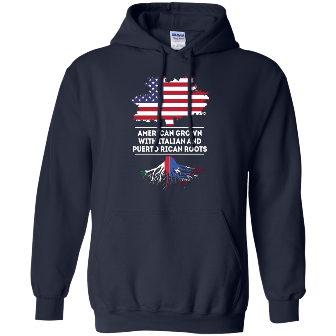 American grown with Italian and Puerto Rican roots T Shirt