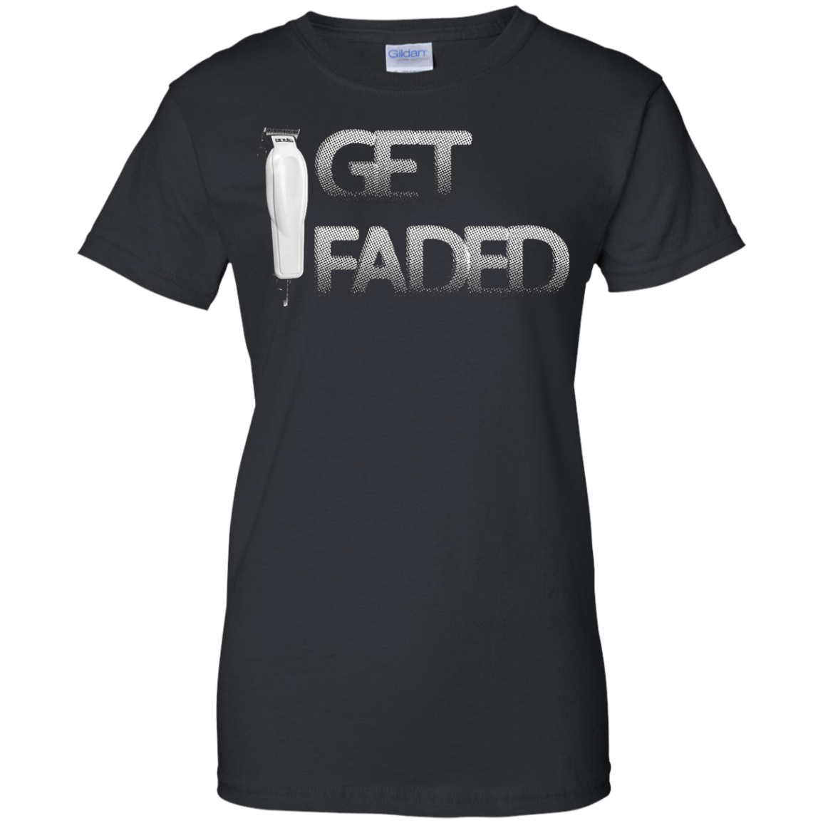 Barber Shirt Get Faded T-Shirt