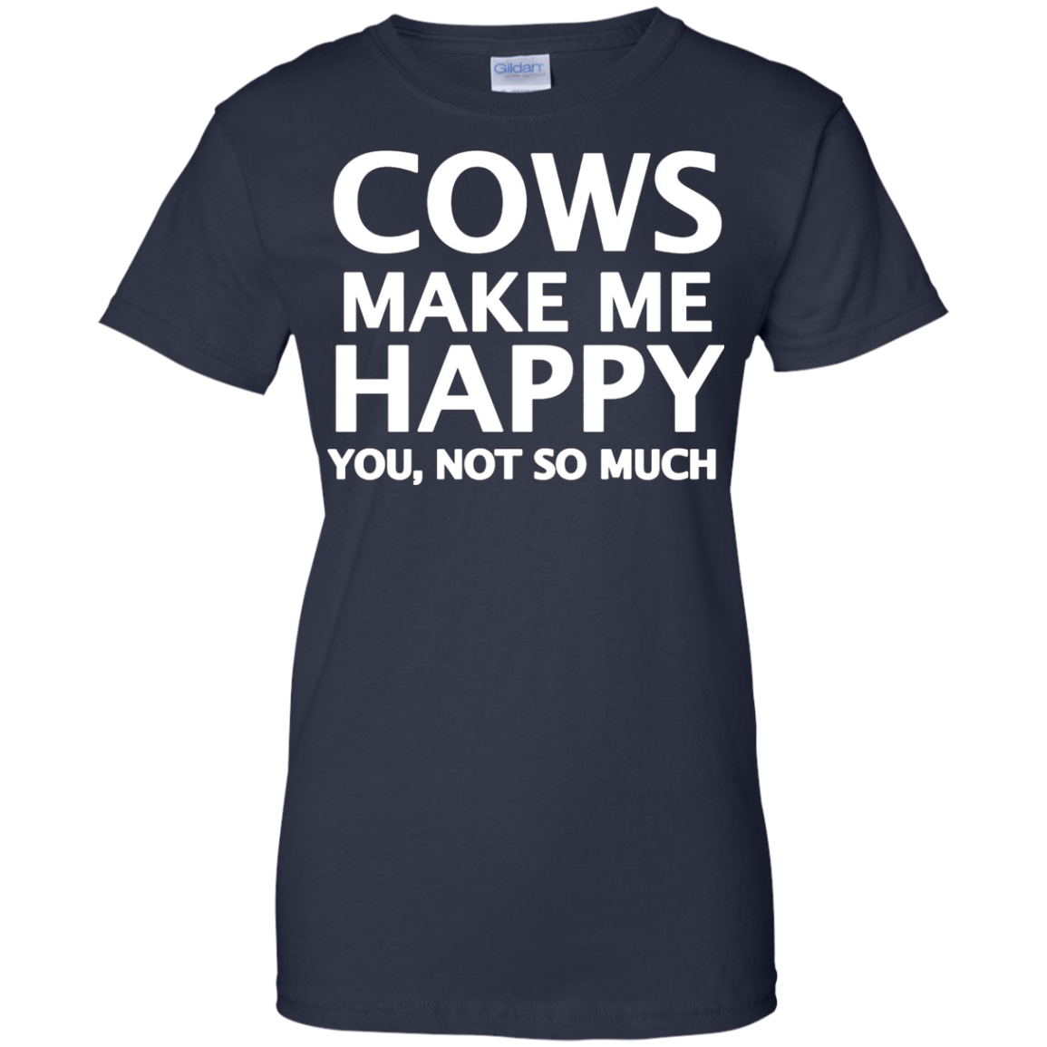 Cows Make Me Happy. You, Not So Much.