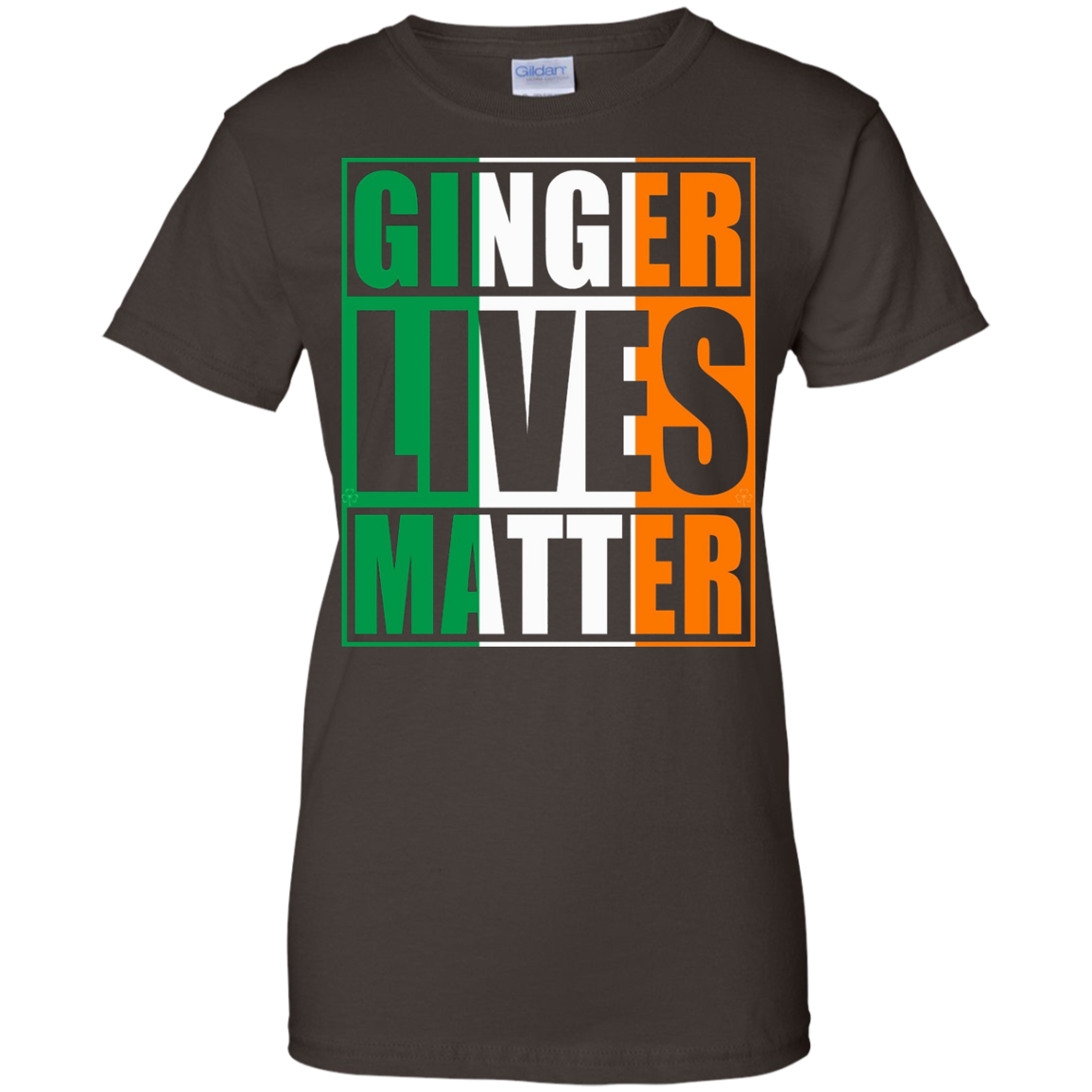Flag of Ireland Ginger Lives Matter Shirt