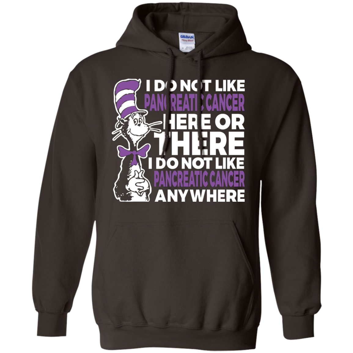 I Do Not Like Pancreatic Cancer TShirts Cancer Awareness Tee