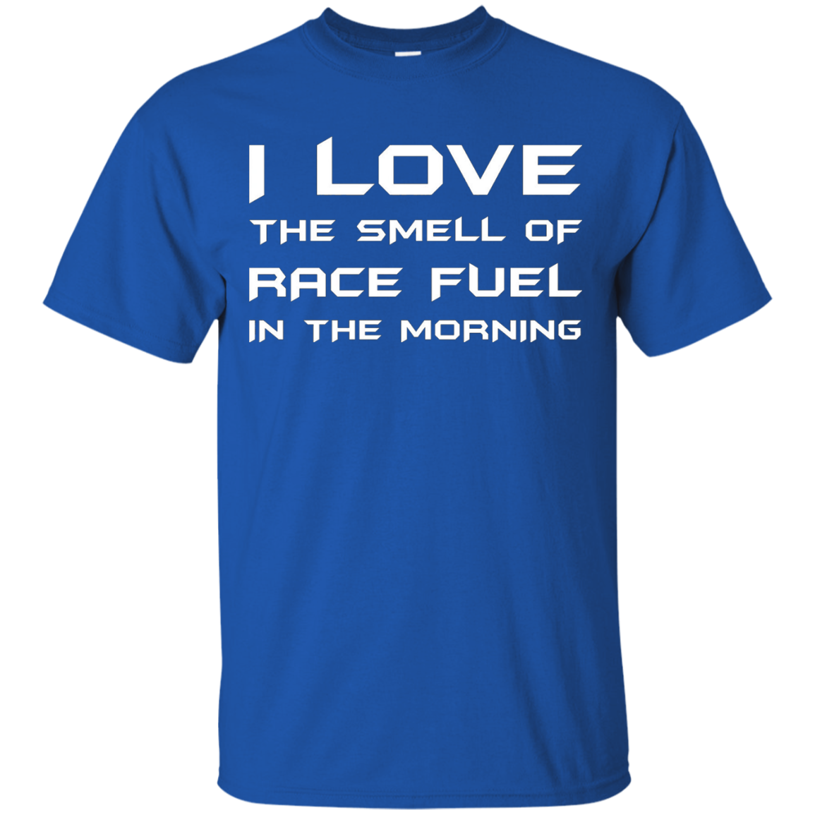 I Love The Smell Of Race Fuel In The Morning Racer Gift Race Fan Dirt Track T-Shirt