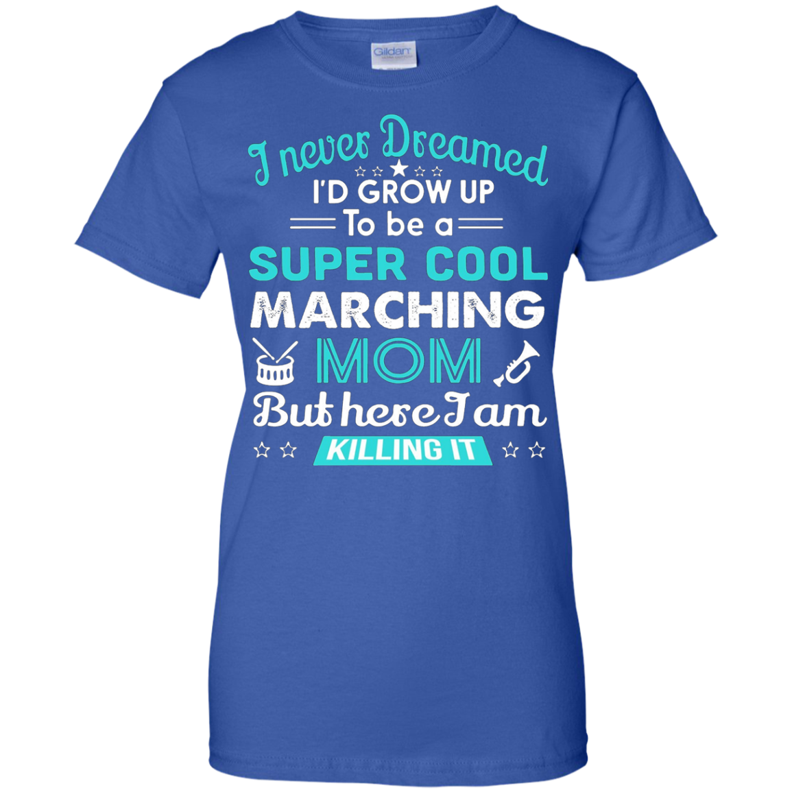 Marching Band Mom T-Shirt Gift