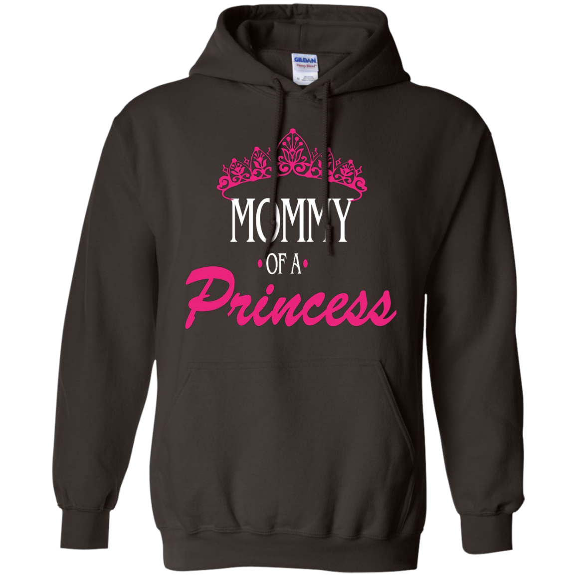 Mommy of a princess daughter of a queen tshirt