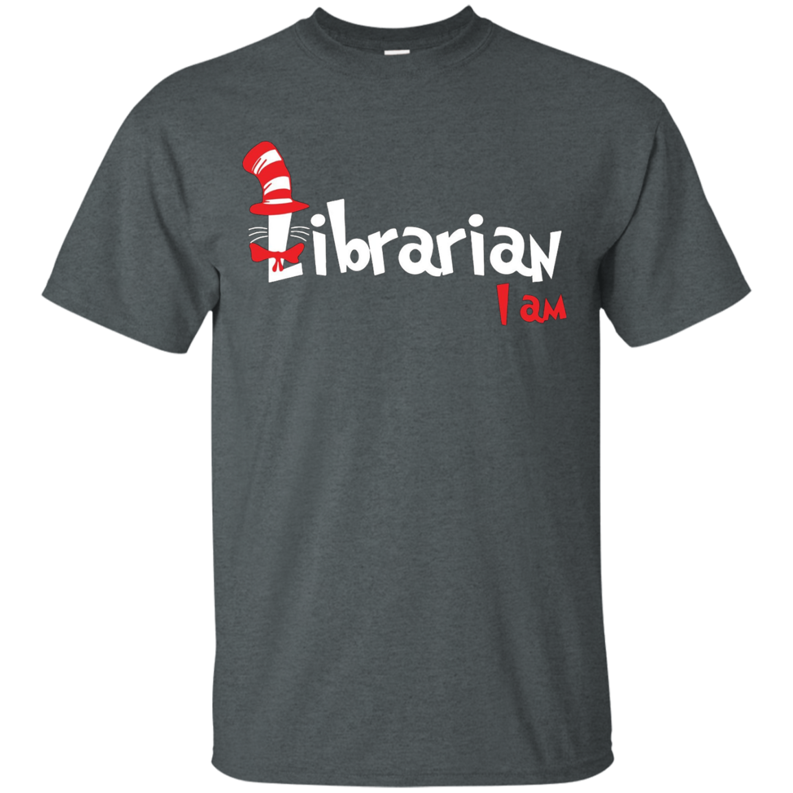 read across america - i am librarian shirt
