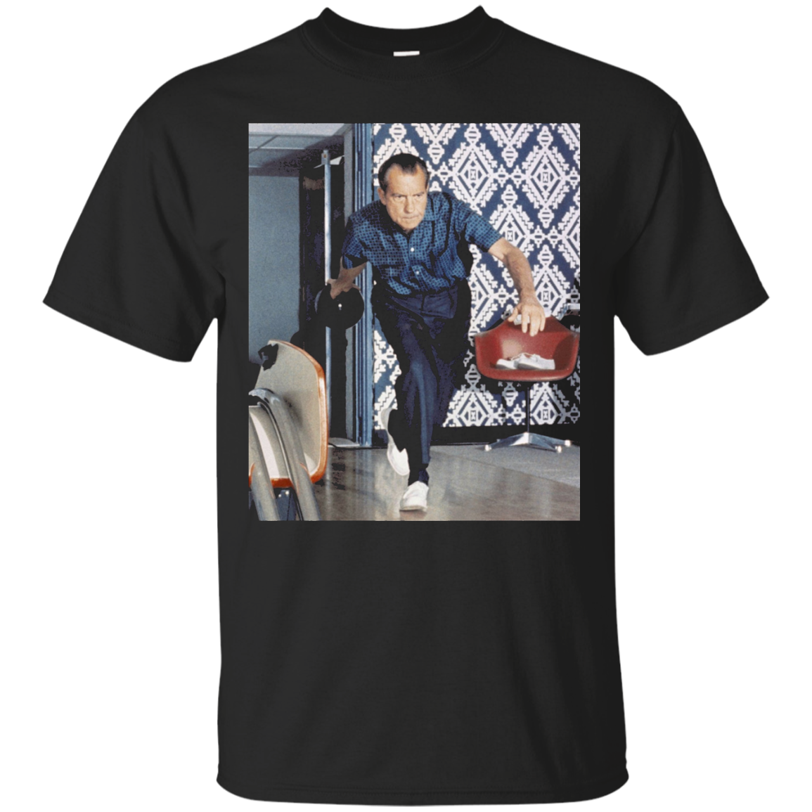 Richard Nixon Bowling T-Shirt