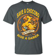 Save a chocobo, ride a gamer T-Shirt