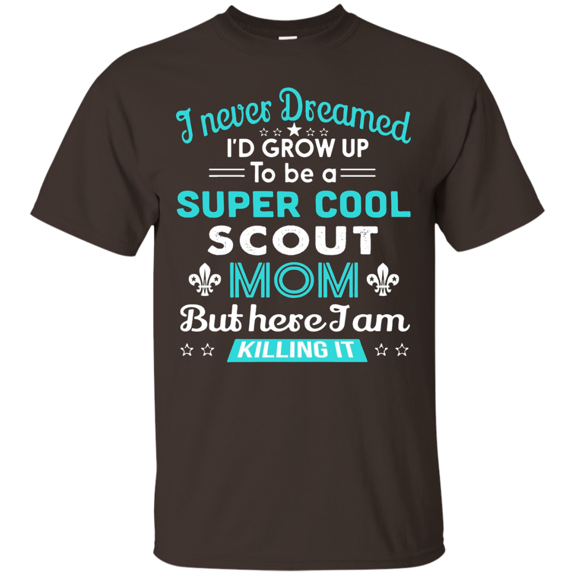 Scout Mom T-Shirt Boy Scout Gift