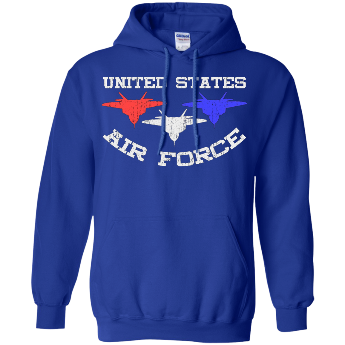 US Air Force United States Military Jet Fighter T-Shirt