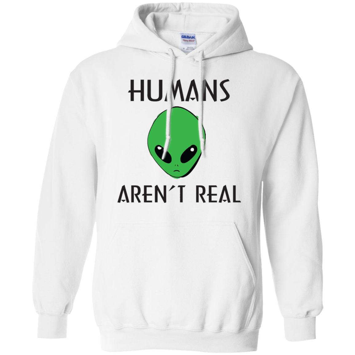 Extraterrestrial T-Shirts - Humans Aren't Real Alien Tee