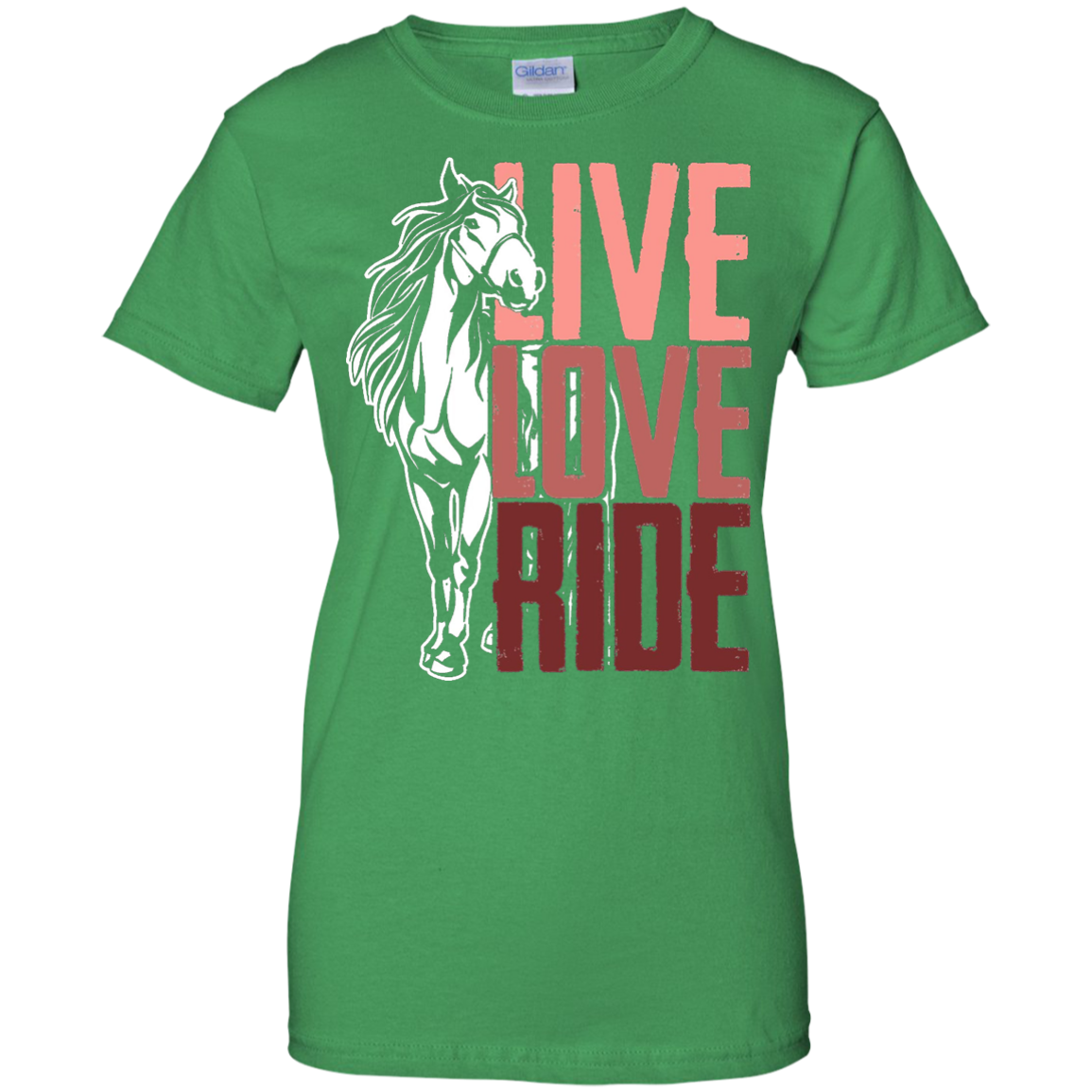 Live Love Ride Horse Lover's T-Shirt